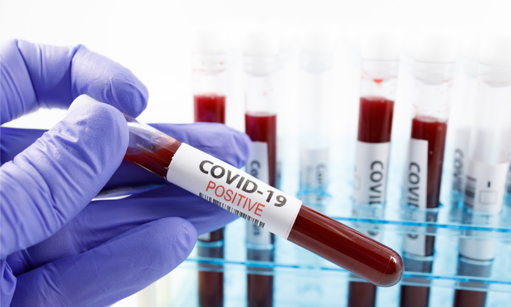 COVID-19: Your employee tested positive – what should you do?