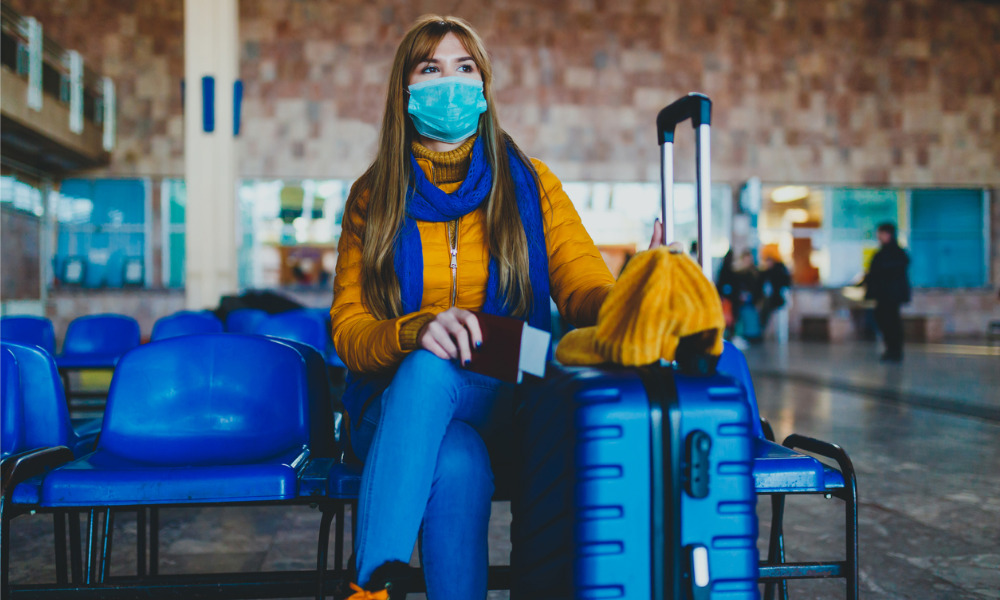 Can HR ban unvaccinated staff from travelling?