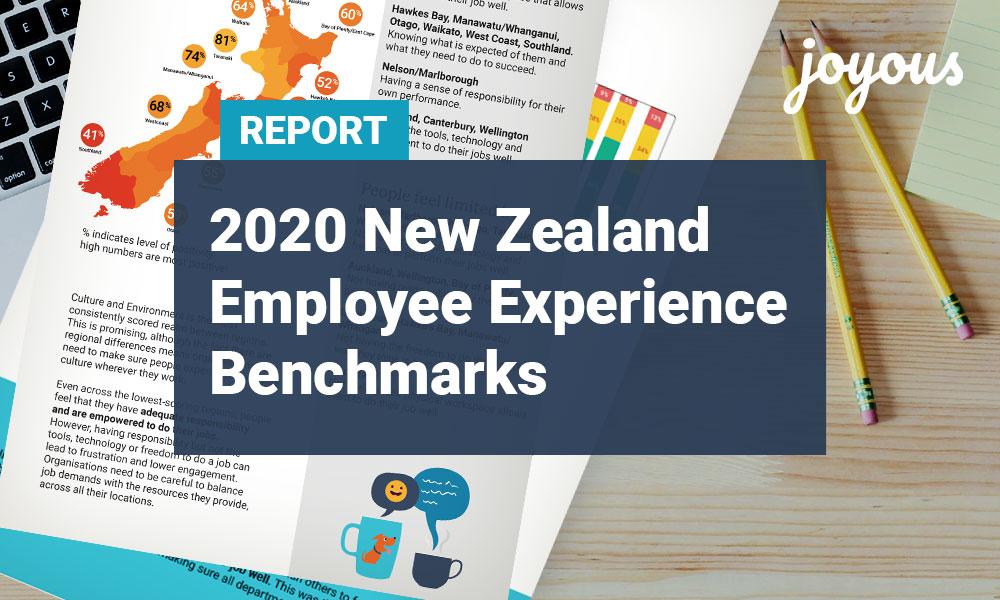 Free Whitepaper: 2020 New Zealand Employee Experience Benchmark Report