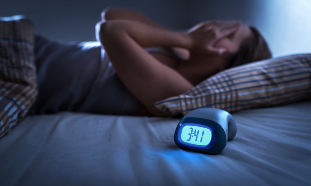 Sleep study finds one in five women getting less than five hours shut-eye a night