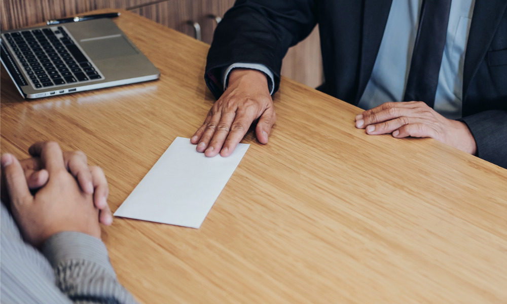 Can you legally reject an employee's resignation?