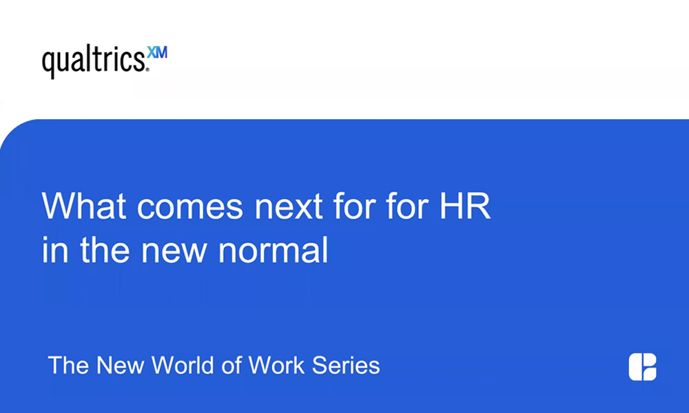 "What comes next for HR in the ""new normal""?"