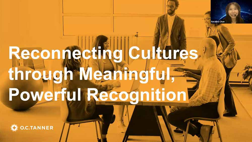 Reconnecting Workplace Cultures through Powerful and Meaningful Recognition