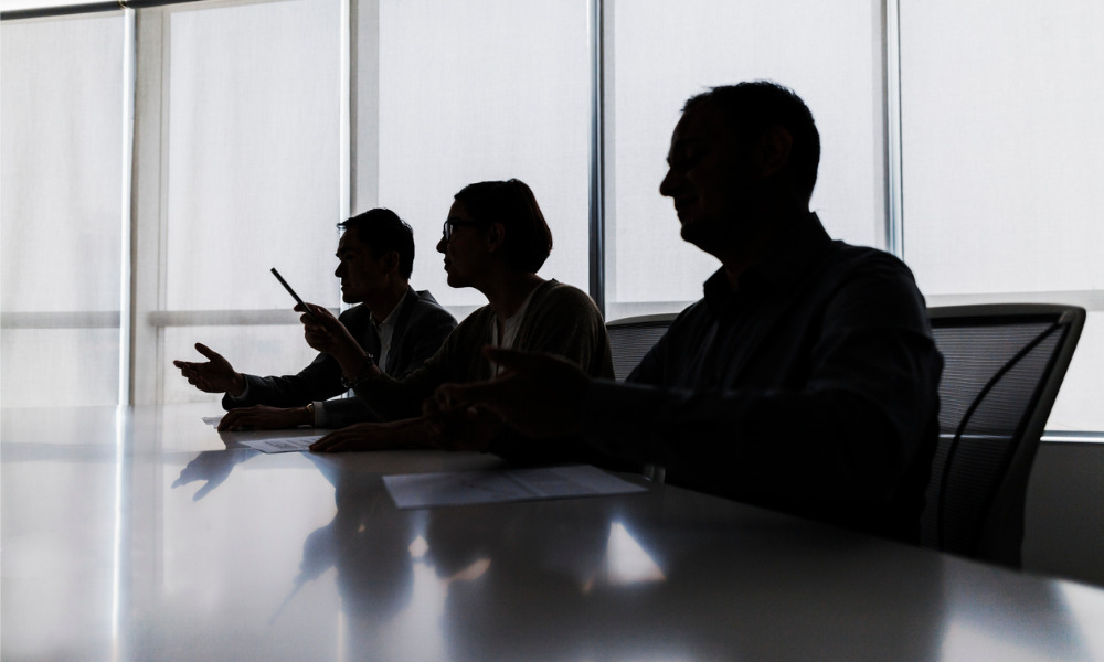 Execs disciplined for slapping new employee