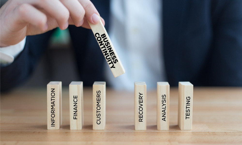 4 in 5 have rolled out business continuity plans