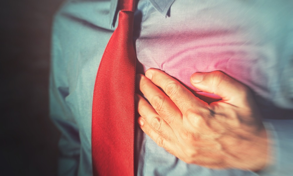 Burnout raises your risk for this deadly heart condition