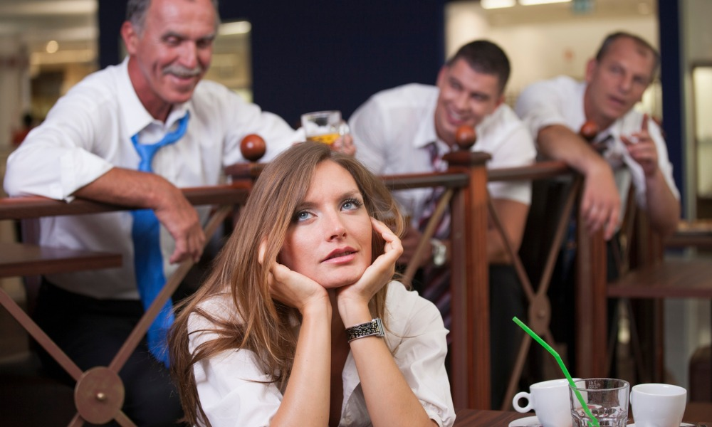 Does 'bar banter' count as workplace harassment?