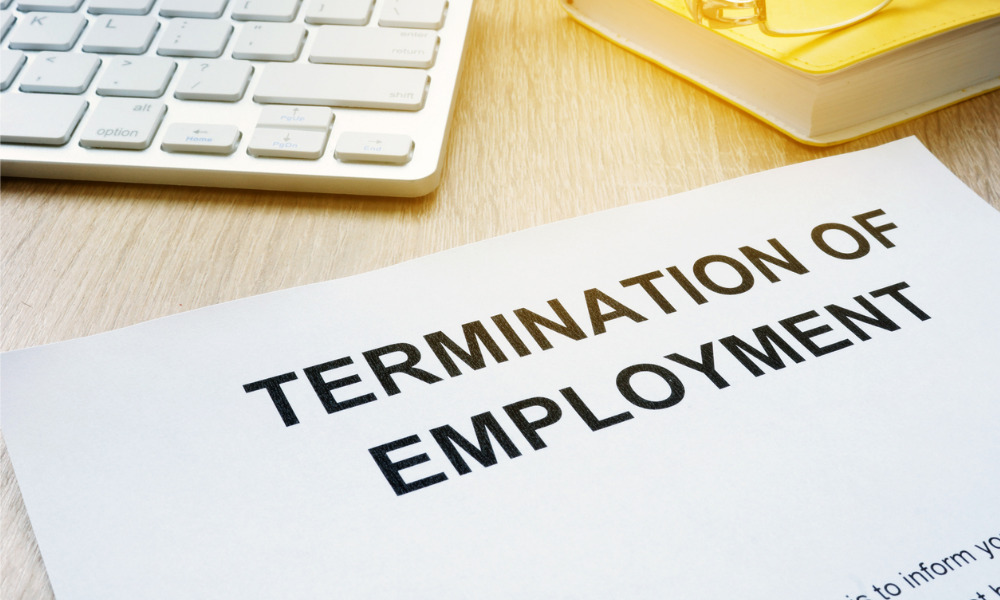 Can you terminate an employee over the phone?