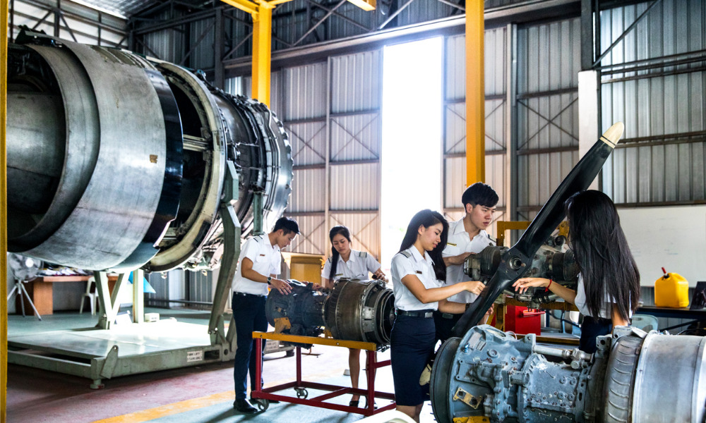 1,000 positions open in Singapore's aerospace industry