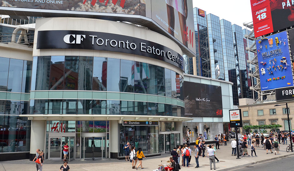 Staircase manufacturer fined $131,250 for fatal fall Toronto's Eaton Centre