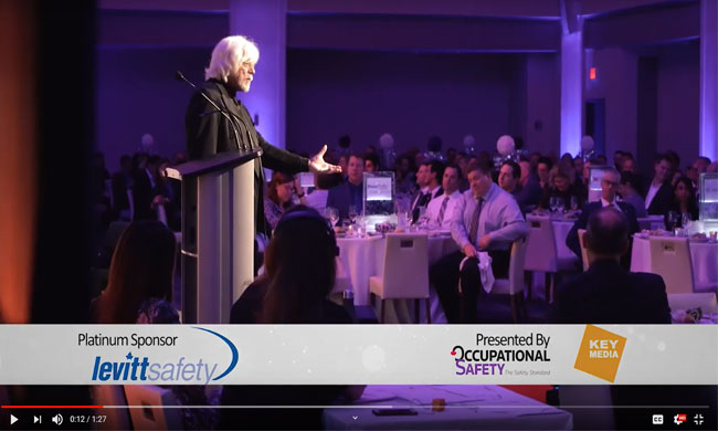Highlights from Canada's Safest Employers 2019 awards gala