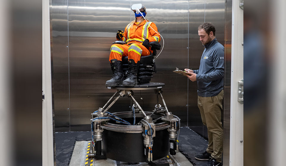 Workplace simulator unveiled to help address safety issues