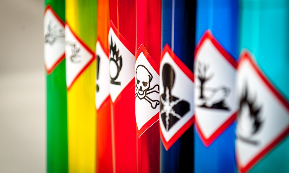 WorkSafeBC changes exposure limits on chemicals