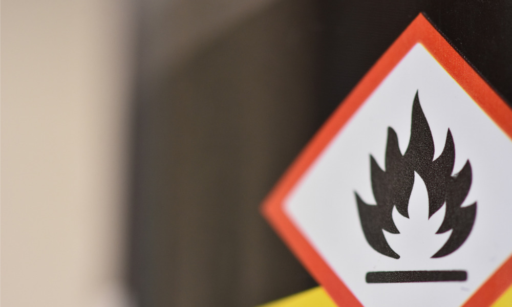 Safety group details how to safely store flammable materials