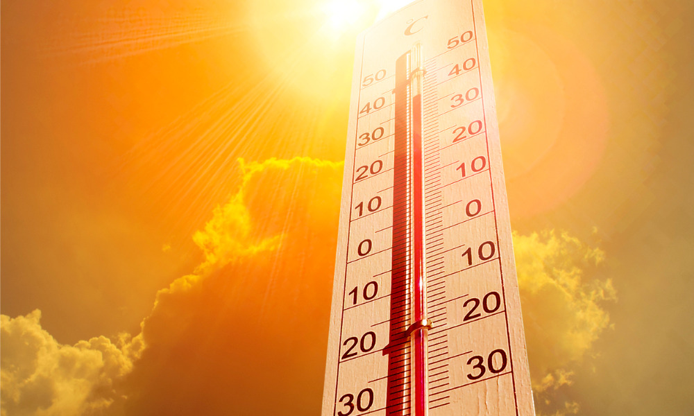 WorkSafeNB reminds workers to be mindful of heat-related risks