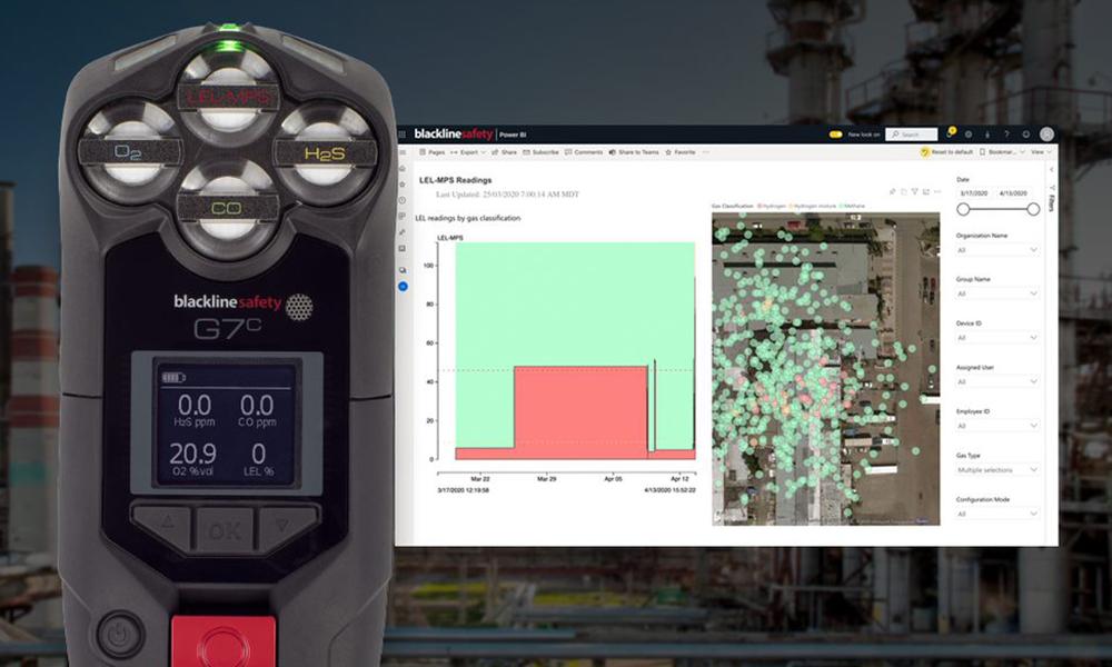 Blackline Safety and NevadaNano MPSTM Flammable Gas Sensor