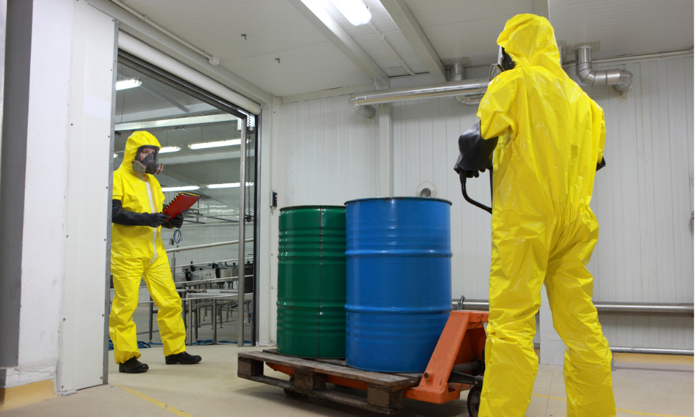 Chemical hazard assessment for small business