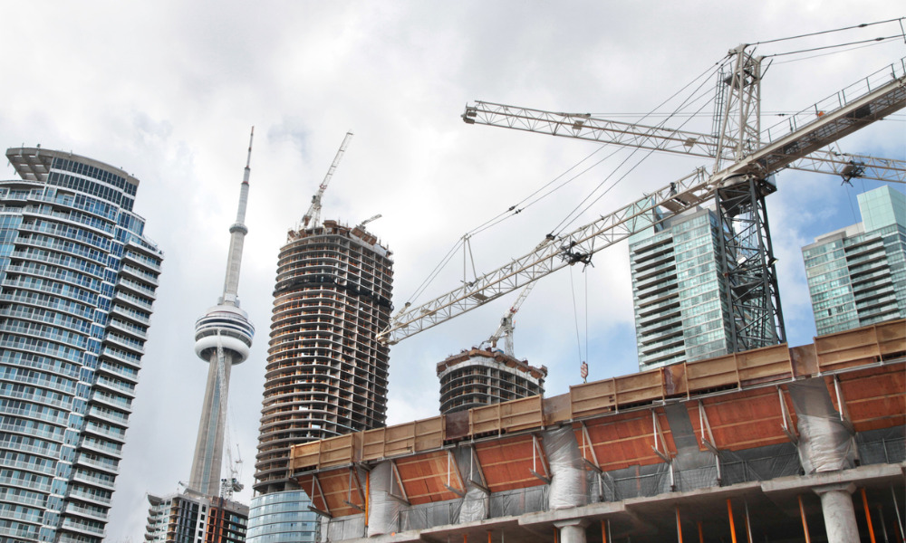 Second crane collapses in downtown Toronto