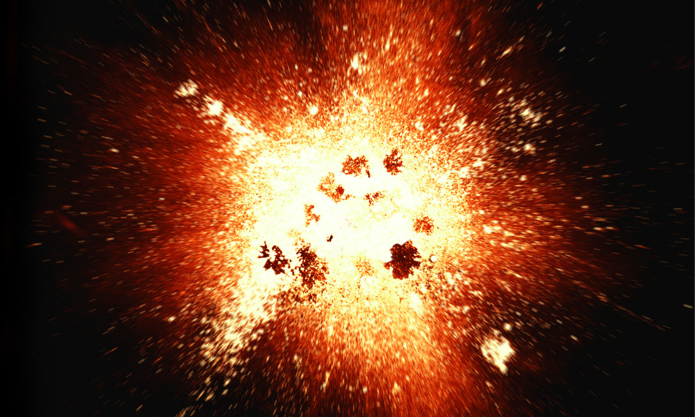 Firm fined $26K after explosion which seriously injured two workers