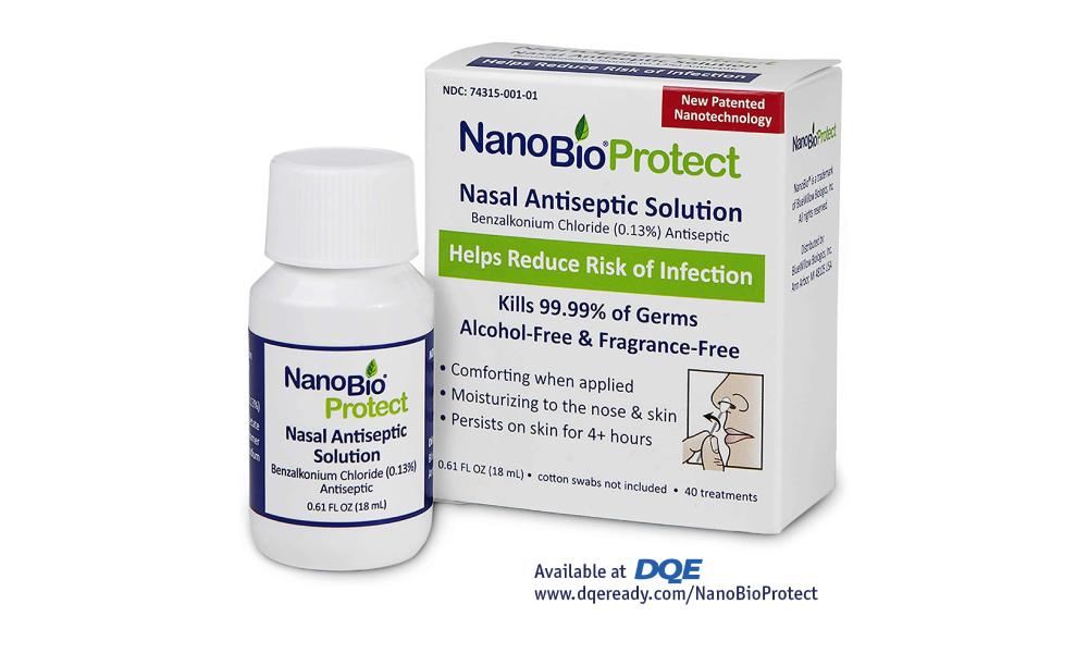 DQE NanoBio Protect nasal antiseptic solution