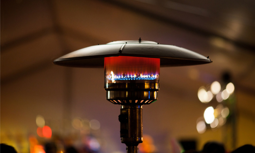 Safety agencies warn against fire risks from patio heater use