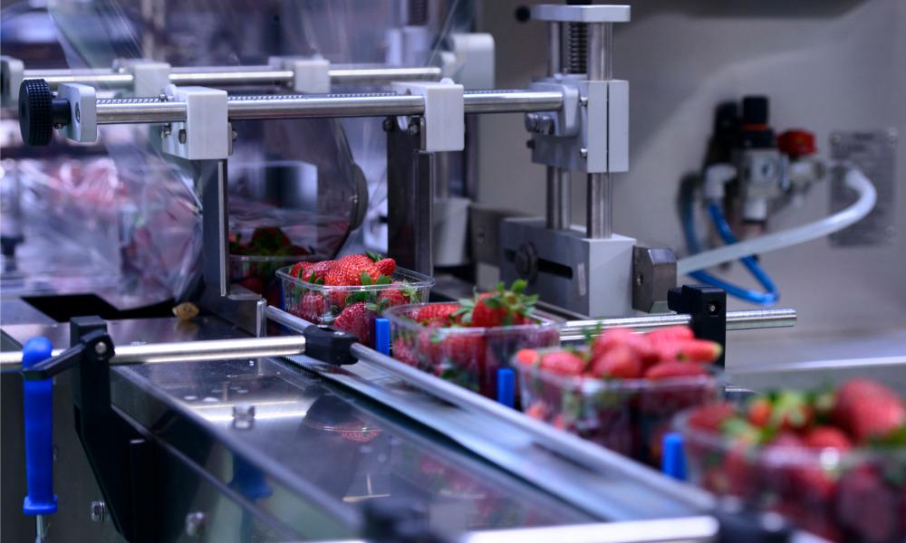 Food manufacturer fined $139K for worker injury