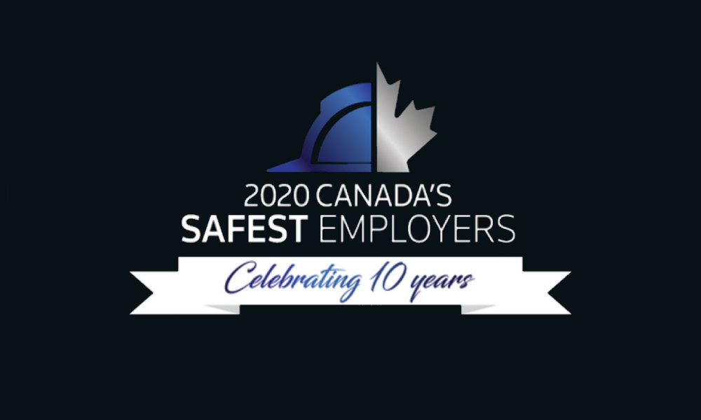 Revealed! Canada's Safest Employers Awards winners 2020