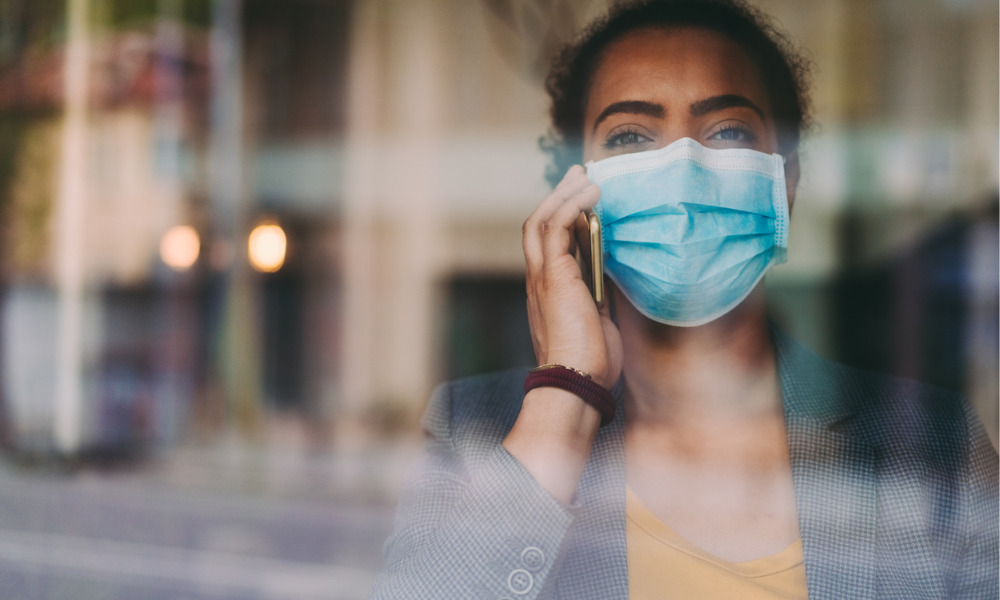 British Columbia requires masks in the workplace