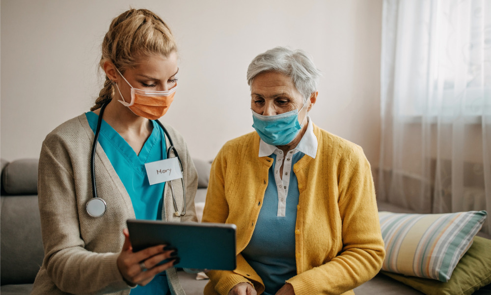 What are the risk factors related to COVID-19 cases in Ontario retirement homes?