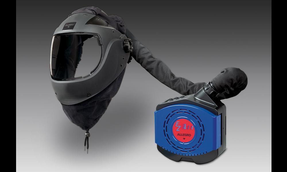 Allegro EZ AIR Flex Shield Powered Air Purifying Respirator (PAPR)