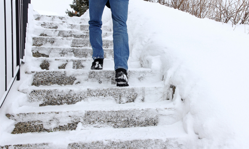 WorkSafeBC releases guide to preventing slips, trips, falls in the workplace