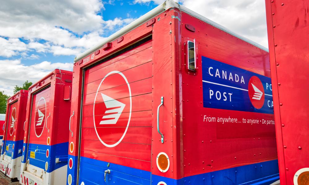 COVID-19 outbreak at Canada Post facility