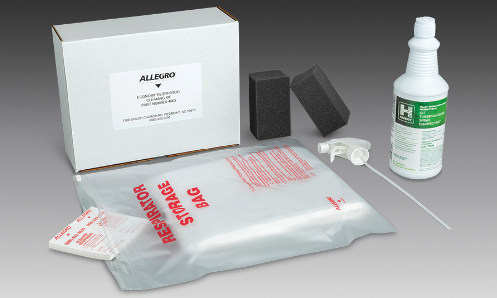 Allegro introduces new economy respirator cleaning kit