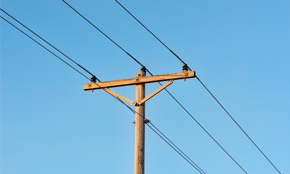 Worker dies from rolling wooden telephone pole incident