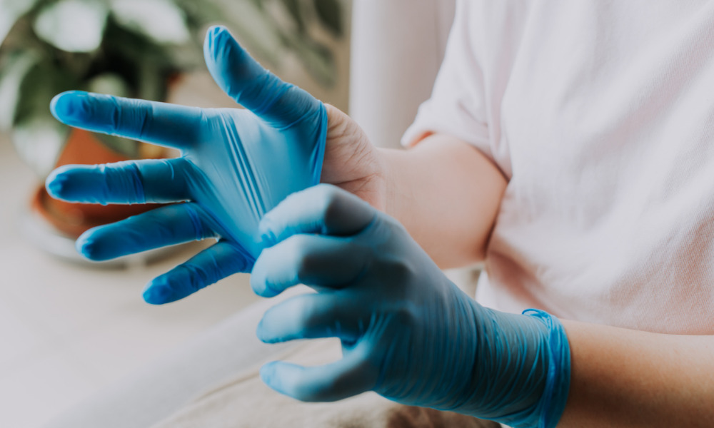 Surge in demand for disposable gloves