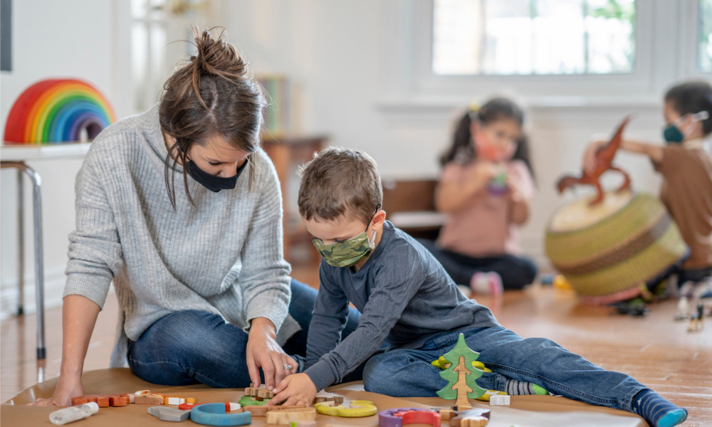 Ontario providing free emergency child care for essential workers
