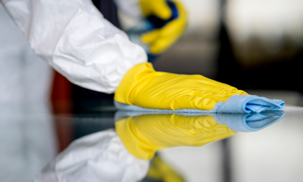 How big is COVID-19's impact on the surface disinfectant market?