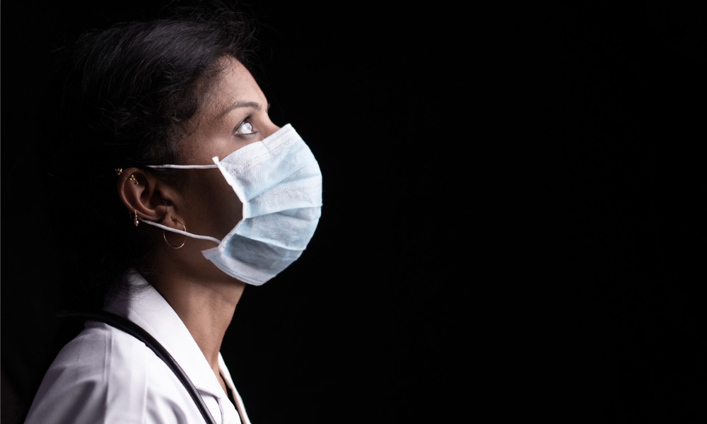 The devastating impact of the pandemic on physicians' mental health