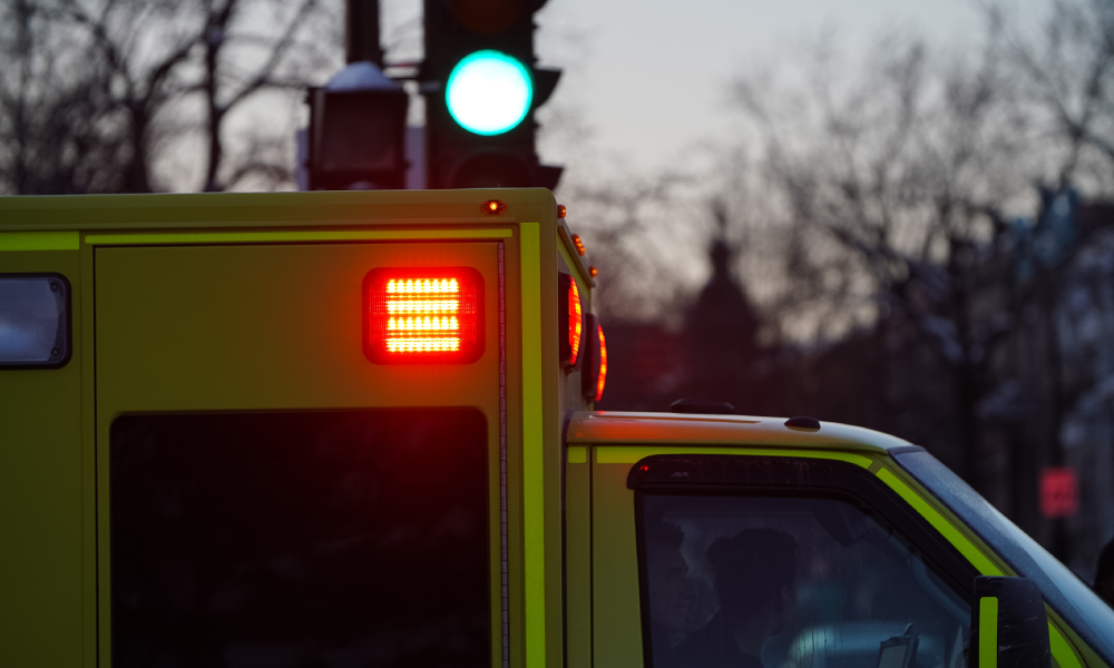 Truck driver fatally injured in pylon crash