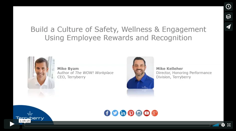 Build a culture of safety and wellness using employee recognition