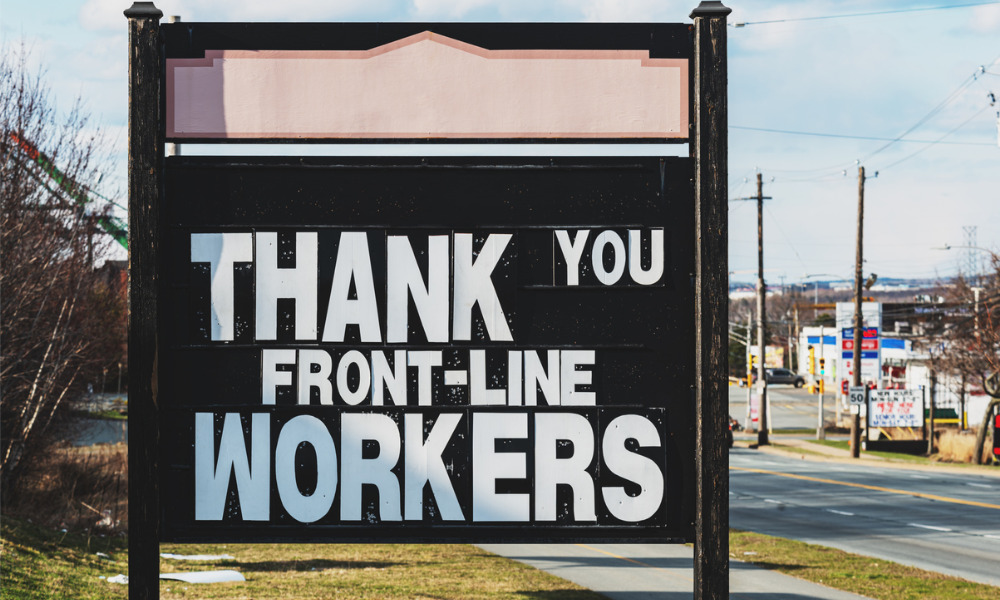 Big businesses working to support frontline workers amid pandemic