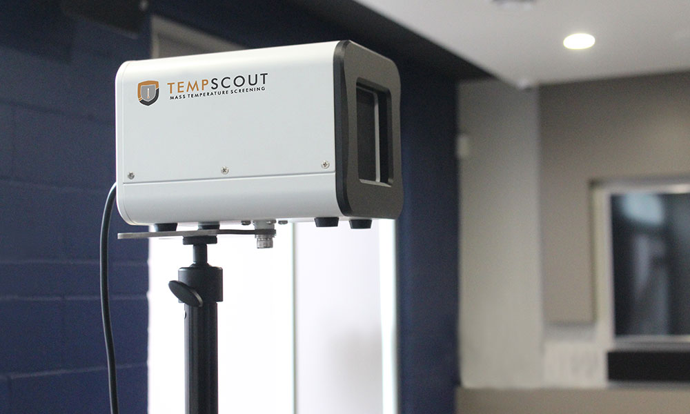 Backwoods Security Services TempScout Thermal Temperature Screening Service