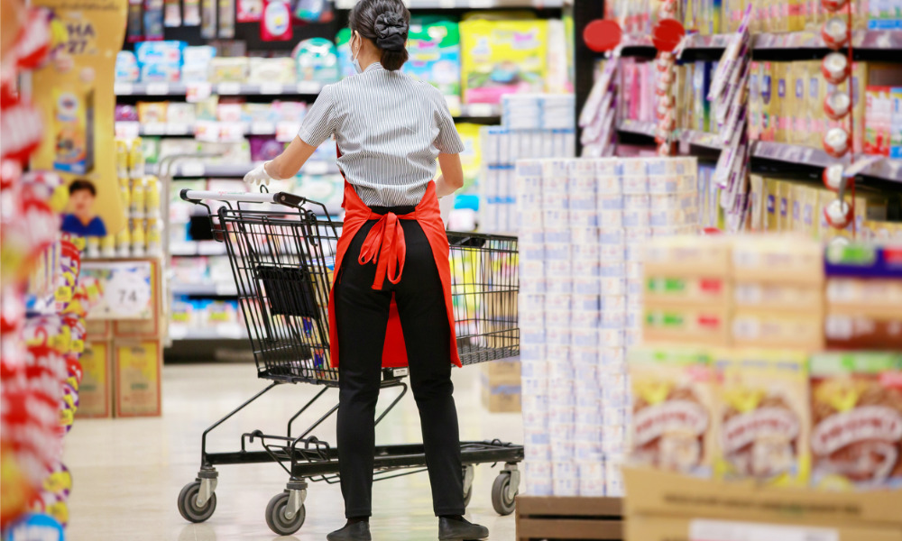 Union calls for 'fair pay forever' for grocery workers