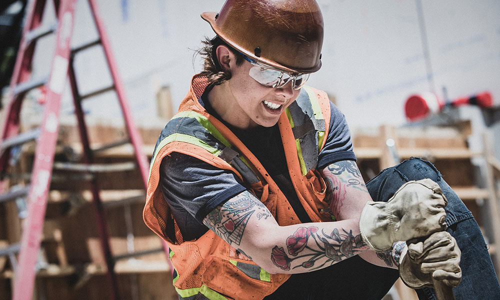 """Tradeswoman Tested"" pushes for better PPE for women in skilled trades"