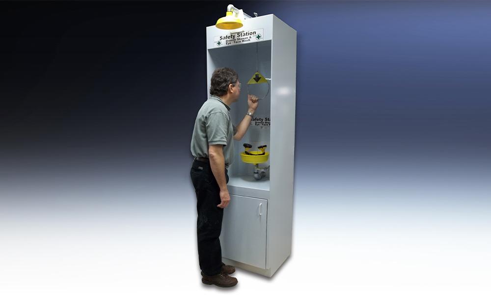 Hemco Safety Station