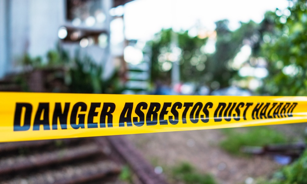 Three B.C. firms fined for asbestos exposure