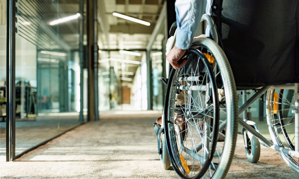 Why do workers disclose or do not disclose a disability at work?