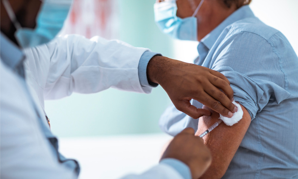 Over 300,000 front-line workers to be vaccinated in B.C.