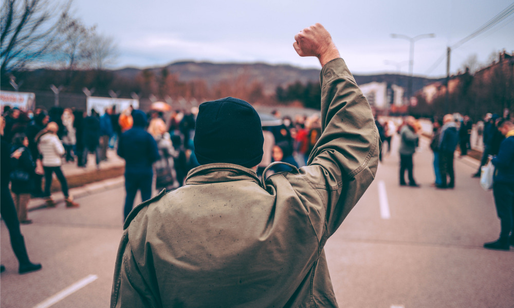 New Nova Scotia legislation protects workers from protesters