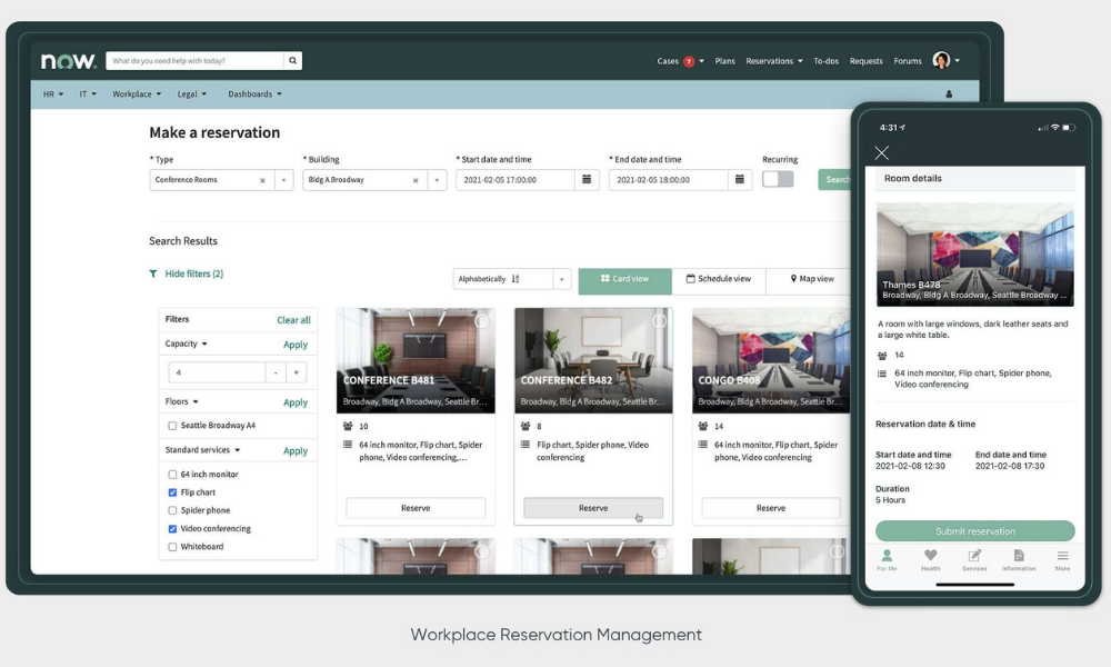 ServiceNow Workplace Service Delivery solution